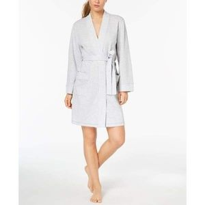 Charter Club Knit Robe Dove Gray